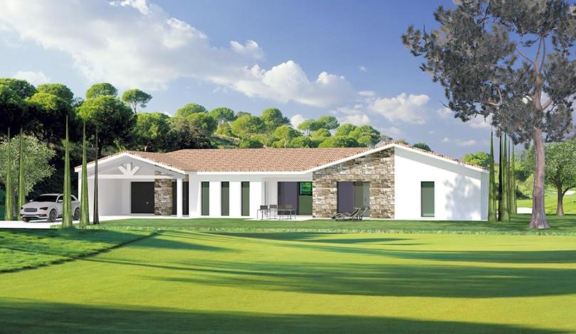 Construction maison Champniers - Charente - Ligne Actuelle