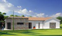Construction maison Brie - Charente - Ligne archi