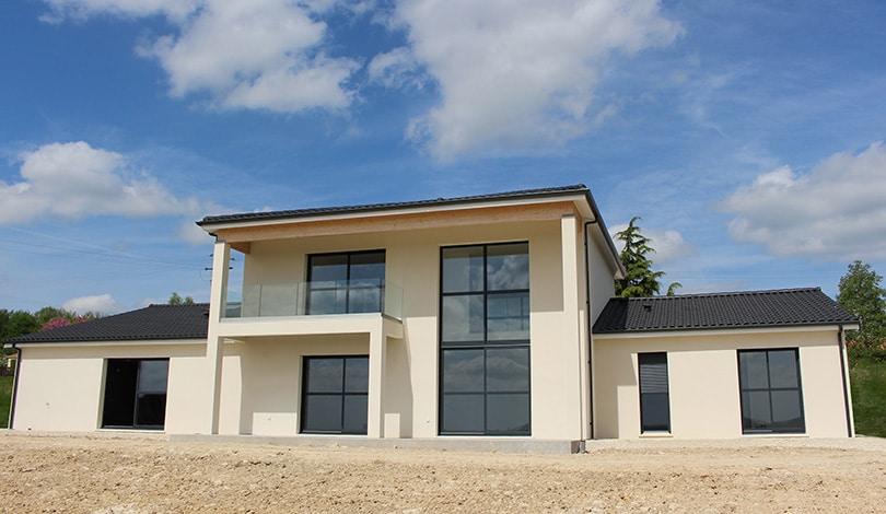 Construction maison Champniers - Charente - Ligne Archi