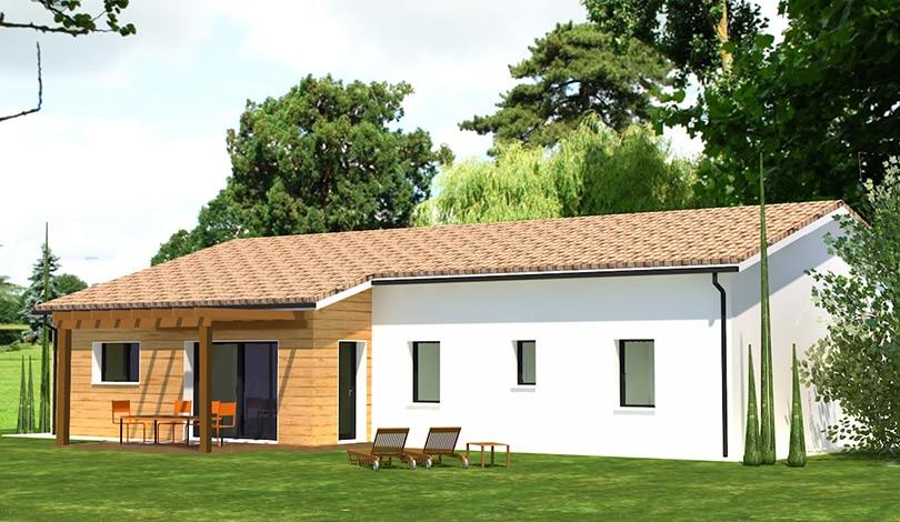Construction maison Claix - Charente - Ligne Nature