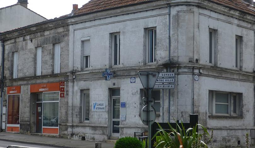 Rénovation d'une clinique vétérinaire - Angoulême - Avant