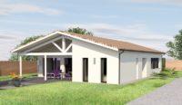 Construction maison L'Isle d'Espagnac - Charente - Ligne Actuelle