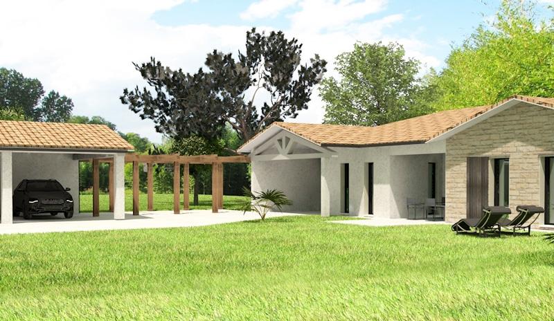 Construction maison Soyaux - Charente - Ligne Tradi