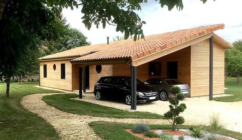 Construction maison Marthon - Charente - Ligne Nature