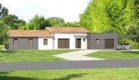 Construction maison Mornac - Charente - Ligne Archi