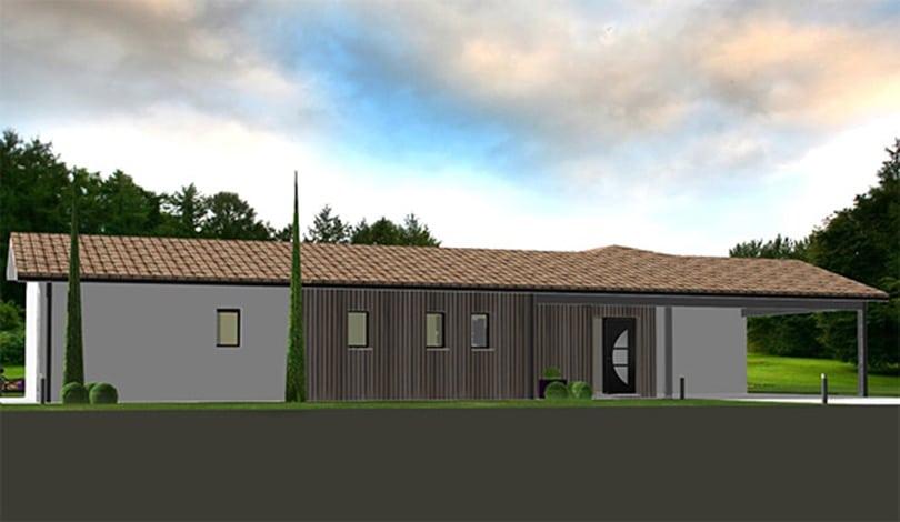 Construction maison Cognac - Charente - Ligne nature