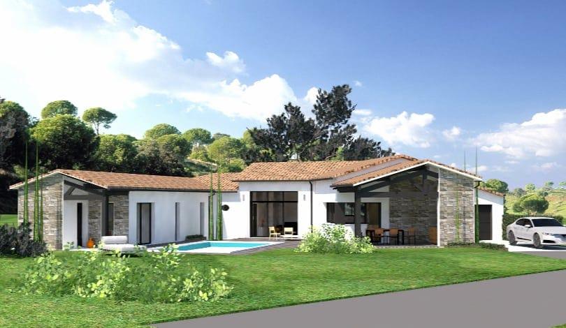 Construction maison Puymoyen - Charente - Ligne archi
