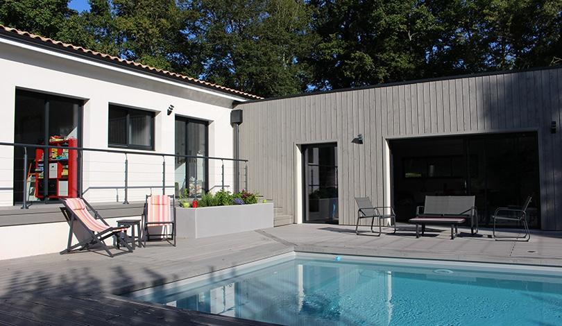 Construction maison Saint-Saturnin - Charente - Ligne Actuelle