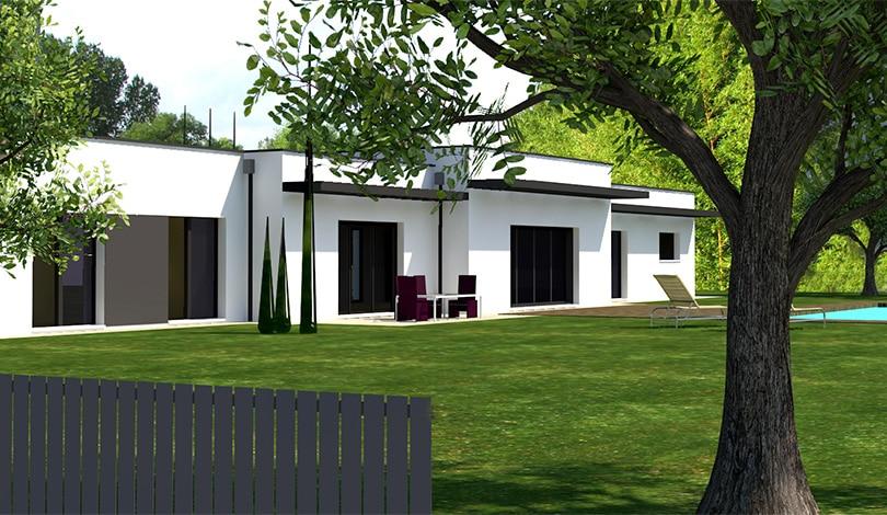 Construction maison Segonzac - Charente - Ligne archi