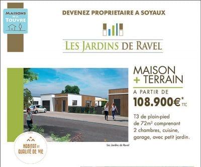 Programme de logements neuf - Soyaux - Les Jardins de Ravel