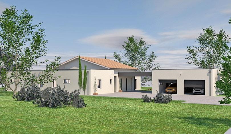 Construction maison Angoulême- Charente - Ligne Archi