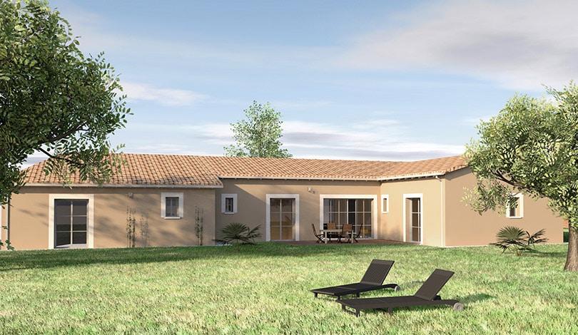 Construction maison Villebois-Lavalette - Charente - Ligne Tradi