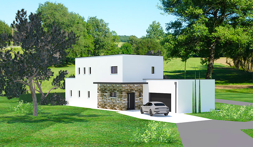 Construction d'une maison d'habitation - Puymoyen - Charente