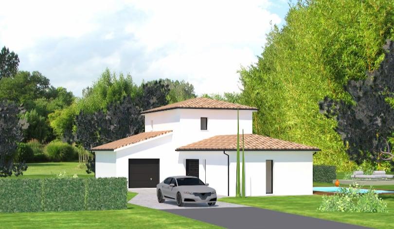 Construction maison Jarnac - Charente - Ligne tradi