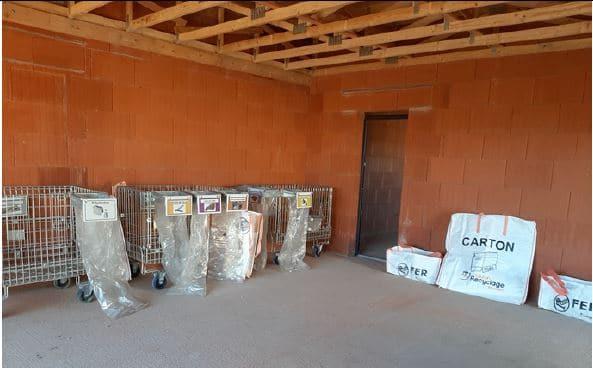 L'environnement préservé grâce au tri sur les chantiers de construction