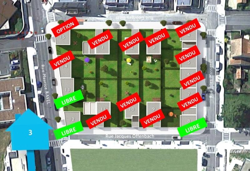 Plan de construction - Les Jardins de Ravel - Soyaux